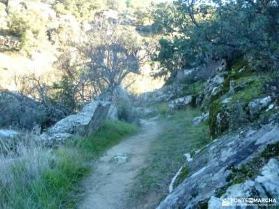 Cañadas, molinos del Río Perales; libros senderismo sendero del agua lugares de montaña
